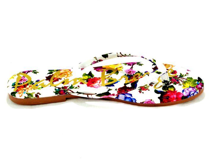 Giselle Vibrant Multi Color Flip Flop