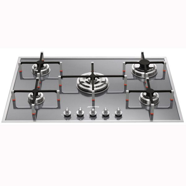 Smeg 74CM Linear Aesthetic Stainless Steel Gas Cooktop PVS750A