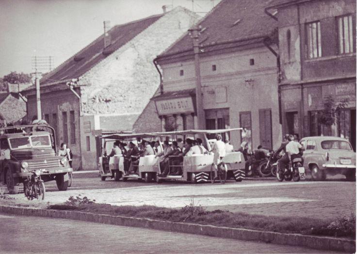Kossuth str. in 1955