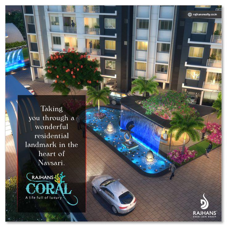 #RajhansCoral: Taking you through a wonderful residential landmark in the heart of #Navsari. #RajhansGroupOfIndustries