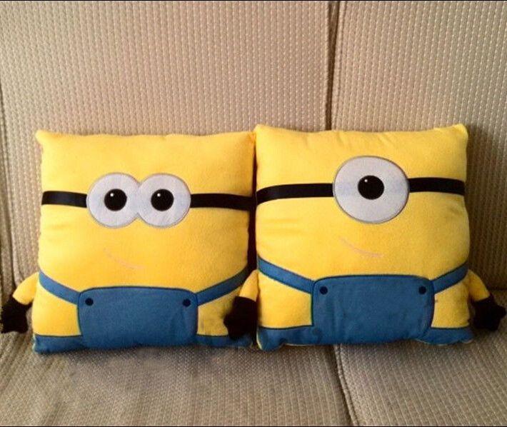 Modern Sofa Despicable Me Minions Home Sofa Seat Chair Car Throw Cushion Pillow Cover Decor