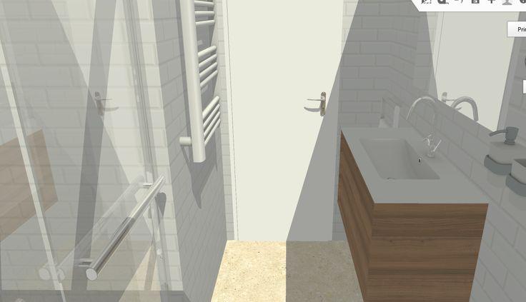 Interior de baño III