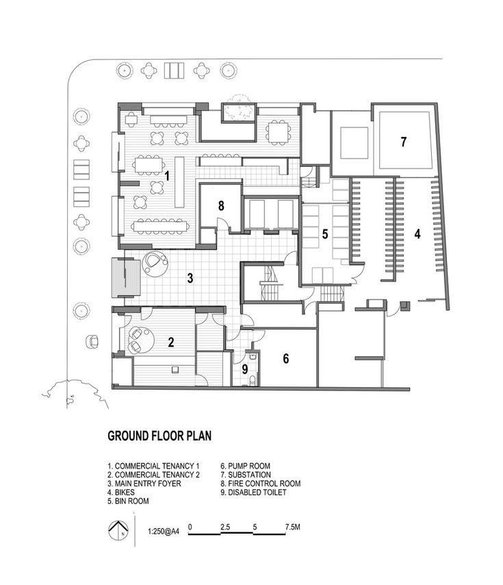 102 best townhouse floor plans images on pinterest for Townhouse construction plans