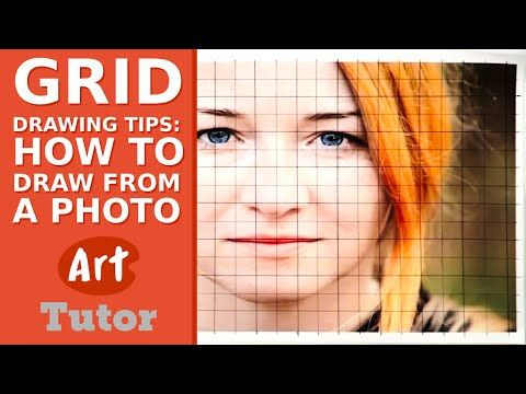 Grid Drawing Tips: How to Draw from a Photo - YouTube