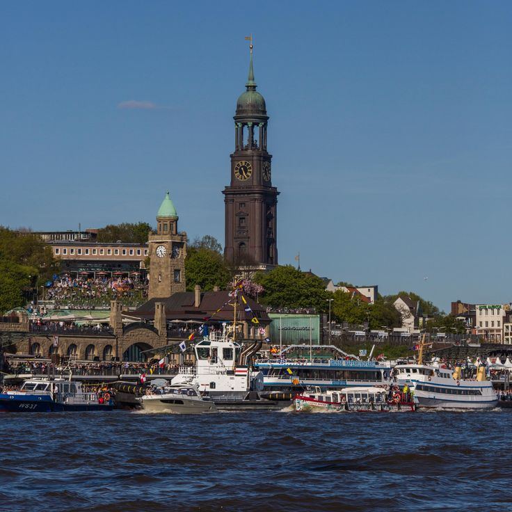 Der Michel beim Hafengeburtstag 2016 | Bildschönes Hamburg
