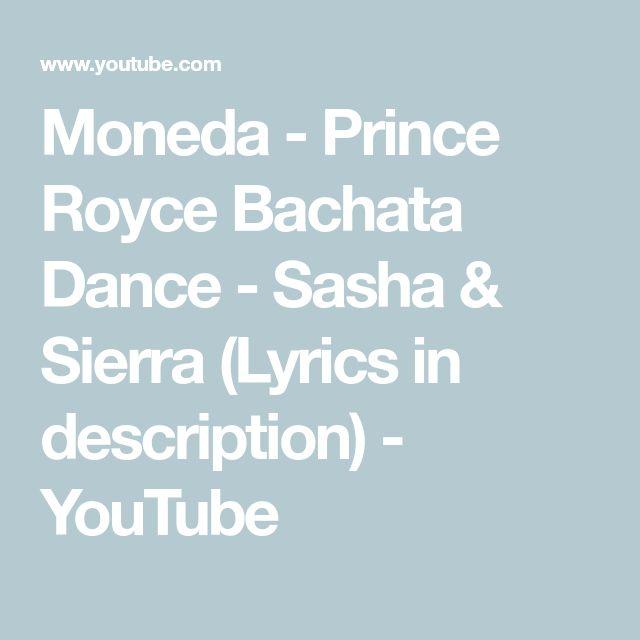 Moneda - Prince Royce Bachata Dance - Sasha & Sierra (Lyrics in description) - YouTube