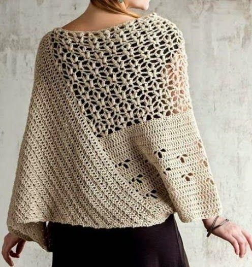 BIG artes - Blog: Blusa em Crochet para todas as ocasiões!