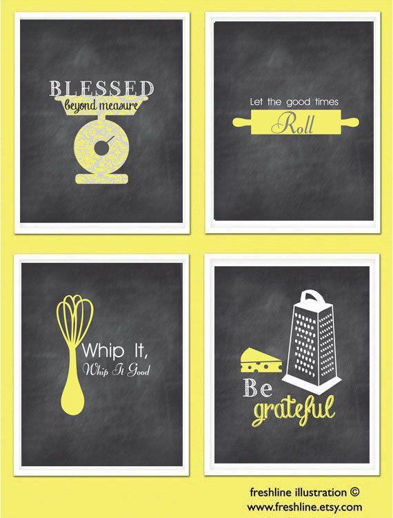 258 best Kitchen Wall Art images on Pinterest | Craft ideas ...