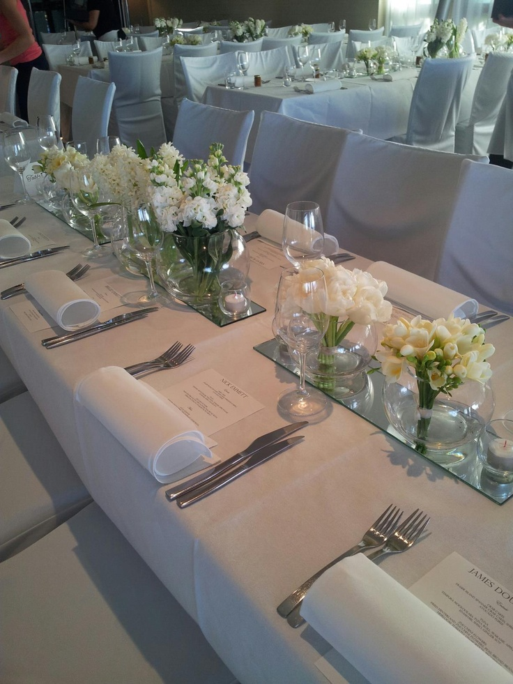 Simple table layout at sails