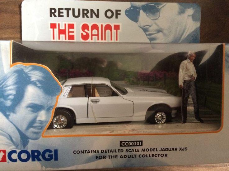 Return Of The Saint Diecast Jaguar XJS CC00301