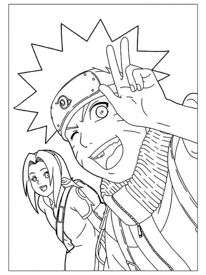 Printable Naruto Coloring Pages Chibi Coloring Pages Cartoon Coloring Pages Coloring Pages