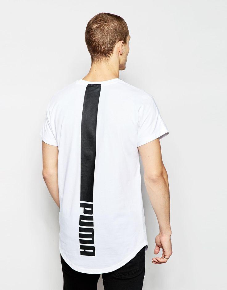 Imagen 1 de Camiseta extragrande con estampado en la parte posterior Evolution de Puma