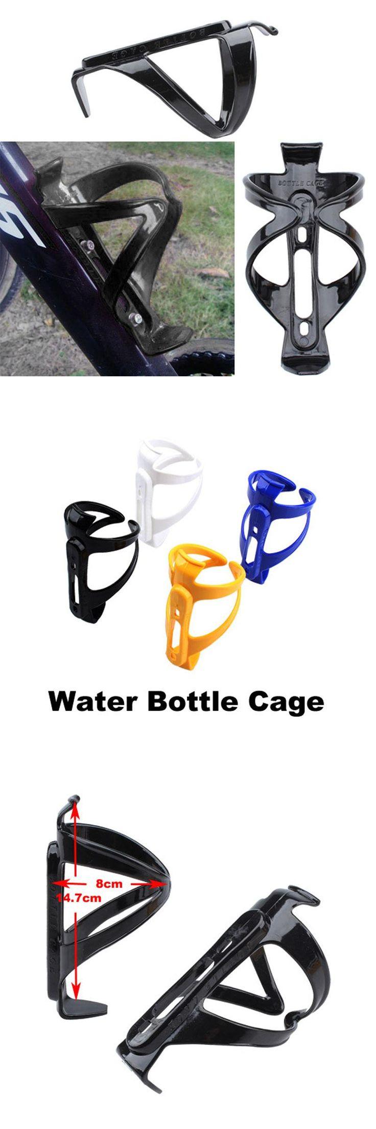 [Visit to Buy] Plastic light Bicycle Water Bottle Holder Cage MTB Road Bike Outdoor Sports Drink Bottles Kettle Mount Rack mountain biking  #Advertisement