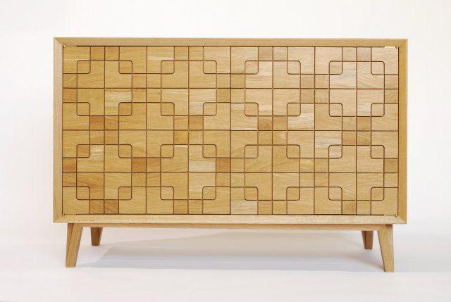 San Gerardo Series Sideboard beautifully crafted using white oak. http://www.unbrandeddesigns.com/details/Navillus-Woodworks/San-Gerardo-Series-Sideboard