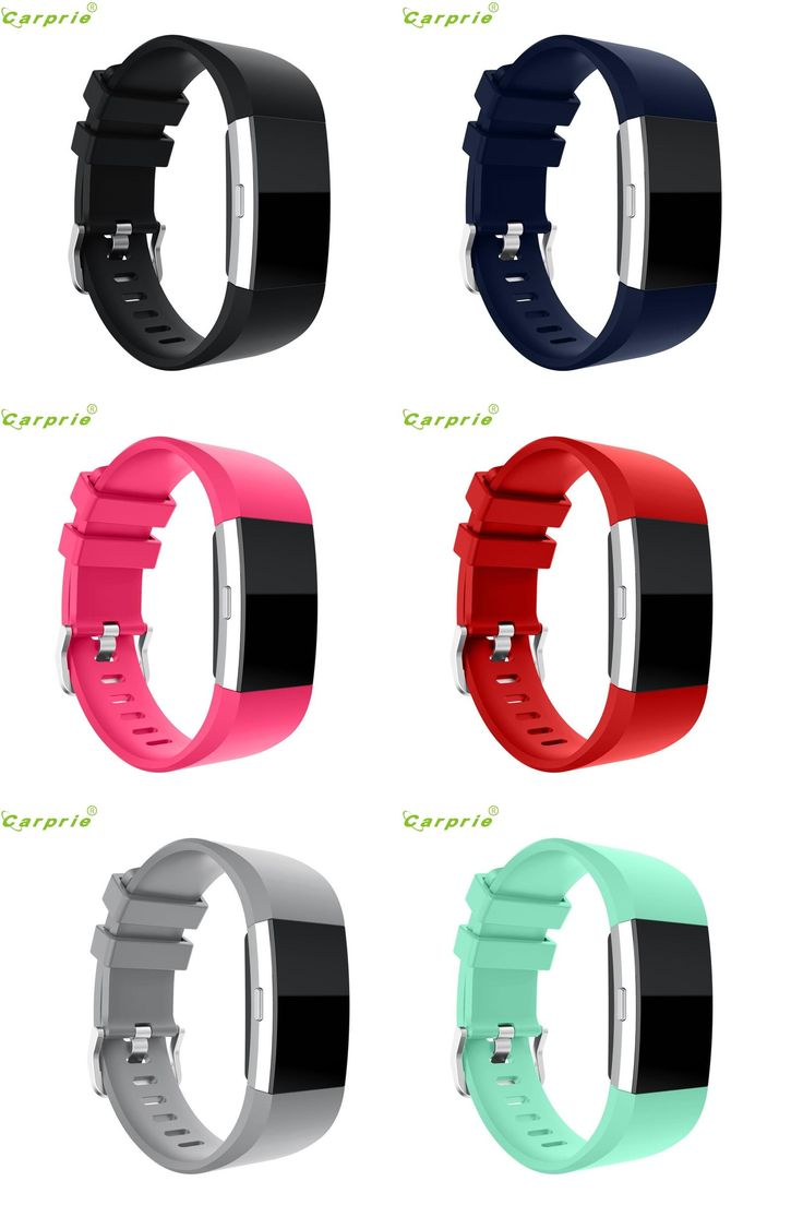[Visit to Buy] Hot-sale Smart Watch New Fashion Sports Silicone Bracelet Strap Band For Fitbit Charge 2 Replacement Gifts #Advertisement