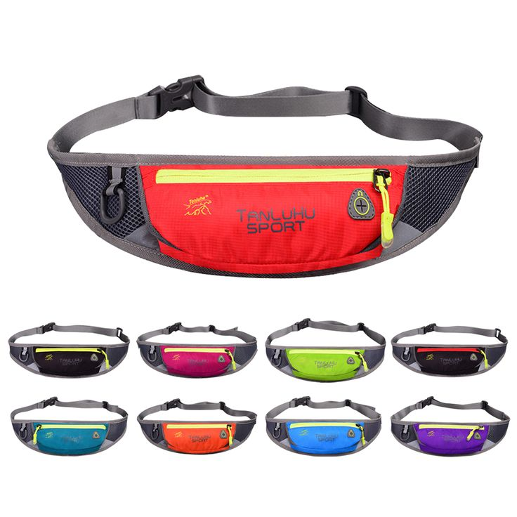 Sports Running Waist Pack for Men Women Fanny Pack Bum Bag Money Belt Waterproof Outdoor Travelling Fishing Cycling Phone Cover
