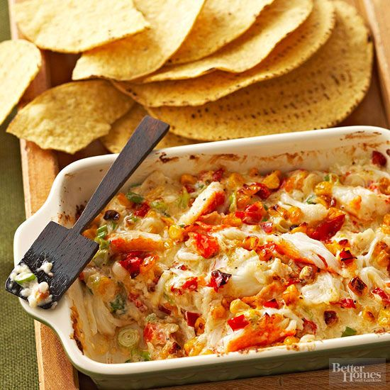 What party would be complete without a tasty dip for chips, wings, or veggies? Try a spinach-parmesan dip, a roasted corn & crab dip, or an asiago cheese dip for your next gathering. These simple and delicious dips will definitely be a crowd pleaser at your event.