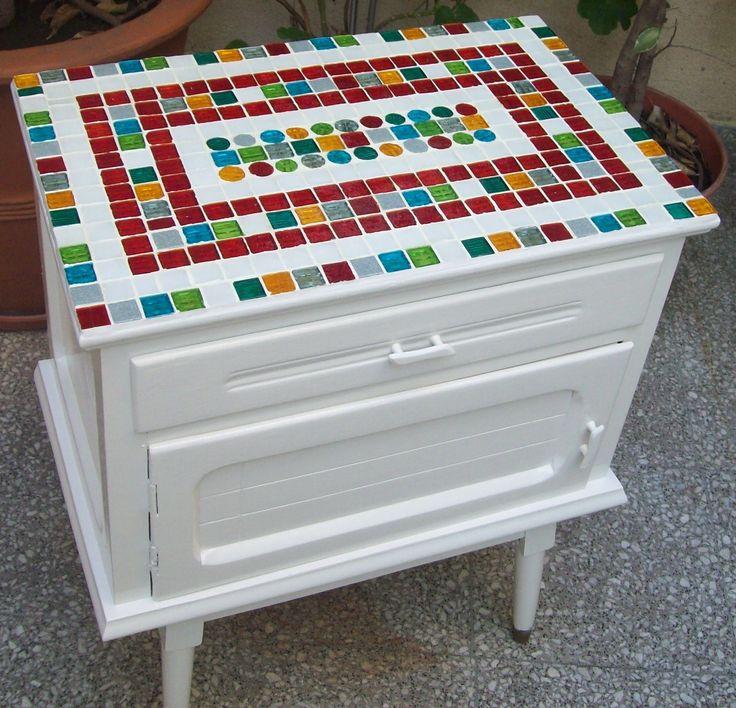 Mesa con venecitas http://facebook.com/Arttemabb