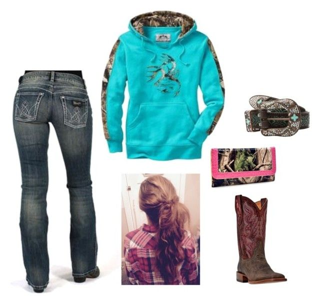"""""""Cute & Country"""" by johndeerebabe on Polyvore featuring Wrangler, M&F Western and country"""