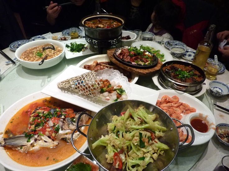 Dinner meeting in Linping, China