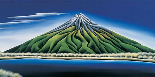 Mt Taranaki, New Zealand - by Diana Adams. Available through Image Vault Ltd