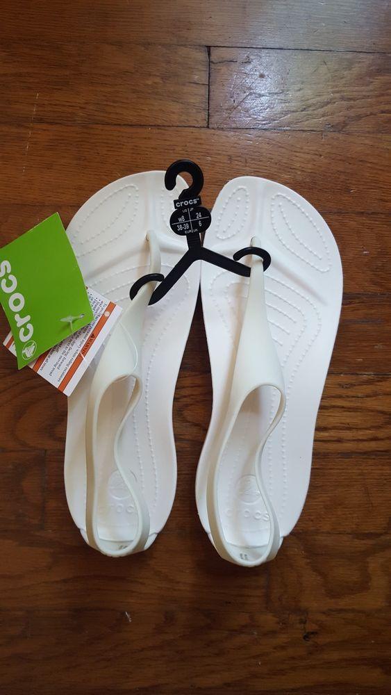 e059e30833b7 Crocs Women s Sexi Flip oyster Thong Sandals sz8 NWT  fashion  clothing   shoes  accessories  womensshoes  sandals (ebay link)