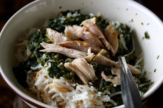how to make molokhia with chicken