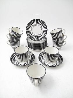 Zebra porcelain by Eugen Trost.