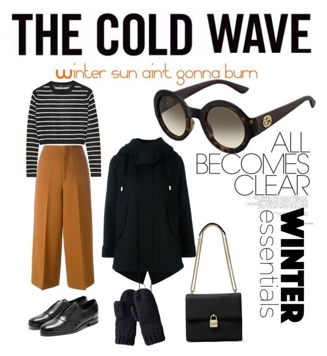 """""""Cool shades for cool weather"""" by eveliine-ursu on Polyvore featuring Marni, THE RERACS, Rupert Sanderson, MICHAEL Michael Kors, Uniqlo and TIBI"""