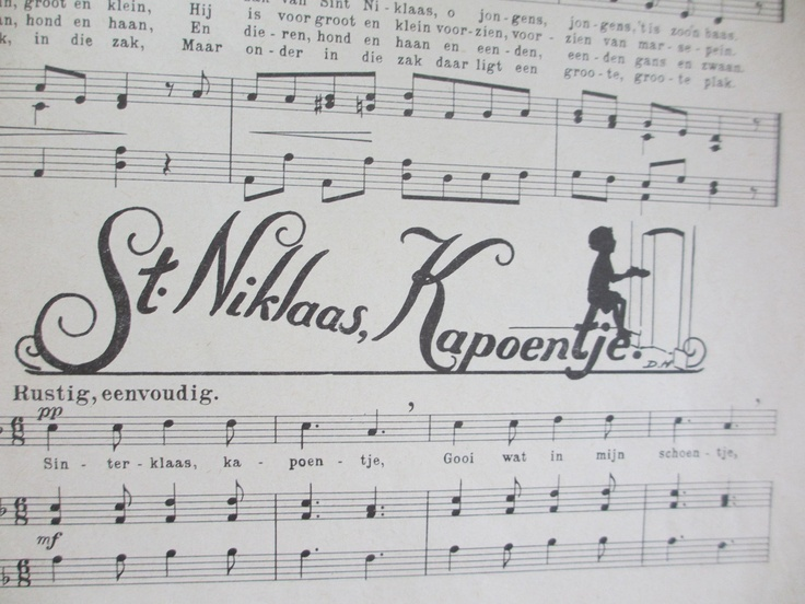 Sinterklaas Kapoentje......our favorite song when we were kids
