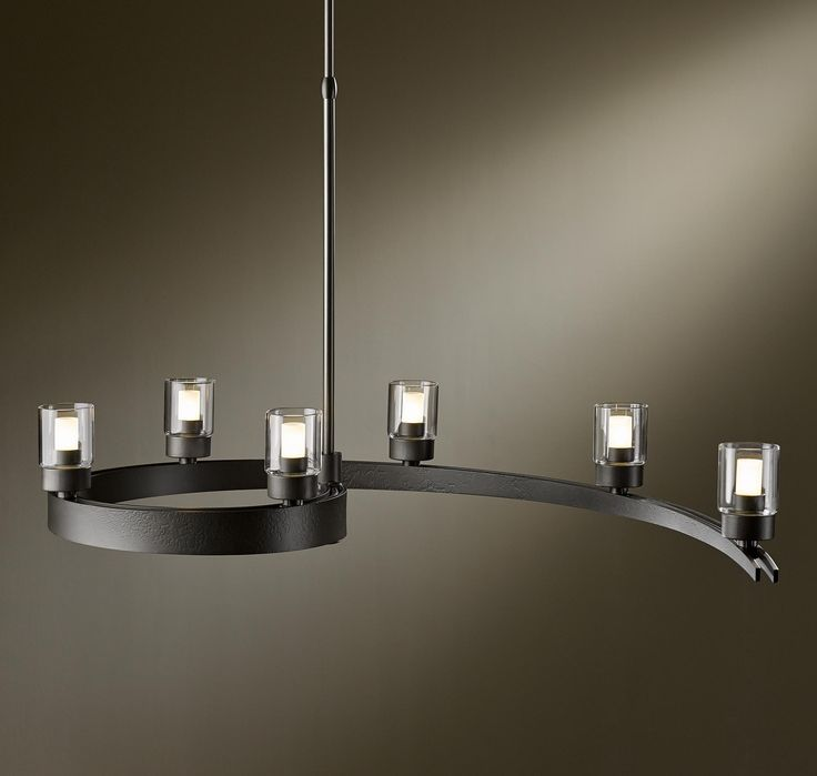 Modern Interior Lighting Design Ideas With Hubbardton Forge: Unique  Chandelier With Hubbardton Forge For Contemporary