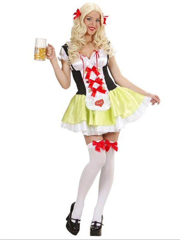 Bavarian Beer Girl (Dress Bow Hairclips). A fantastic Oktoberfest Fancy Dress Costume. http://www.novelties-direct.co.uk/bavarian-beer-girl-dress-bow-hairclips-12345.html