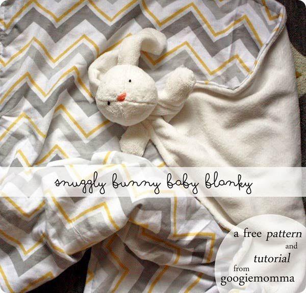 DIY : la couverture doudou lapin pour bébé | tutoriels de couture | Blog de Petit Citron