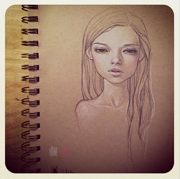 Sketch by Audrey Kawasaki