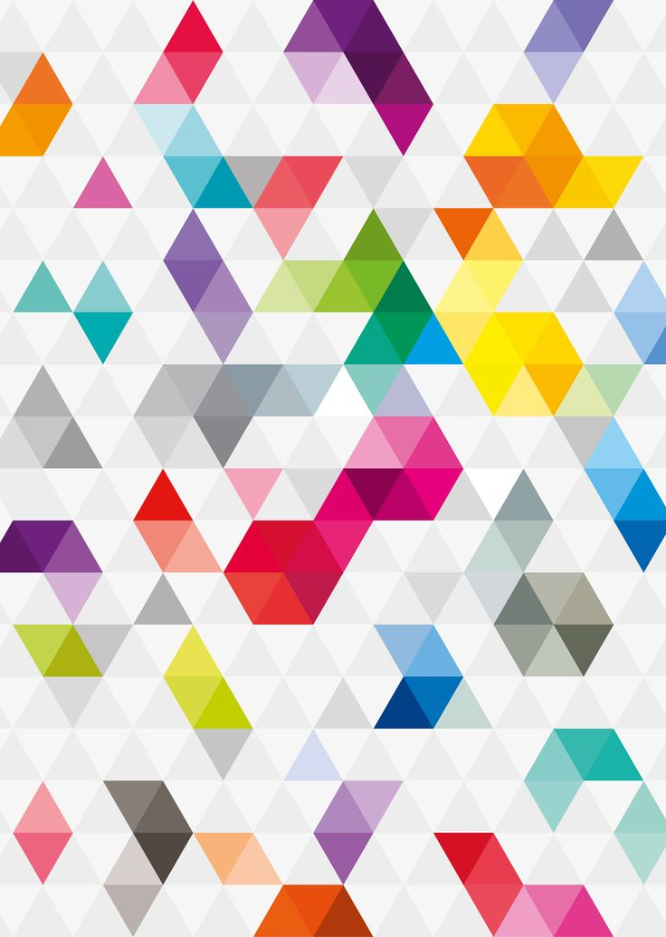 Triangular Pattern by KarolisKJ.deviantart.com on @deviantART