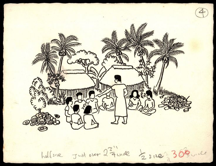 Samoan school publication artworks   by Archives New Zealand