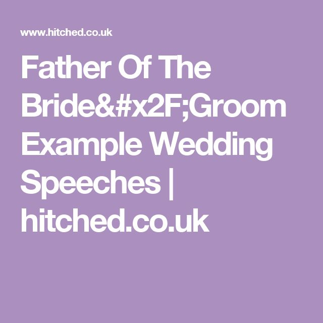 Father Of The Groom Wedding Speech: 25+ Best Ideas About Groom Speech Examples On Pinterest