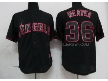 shopping mens majestic los angeles angels of anaheim 36 angels of anaheim  jered weaver black fashion 991e48b74