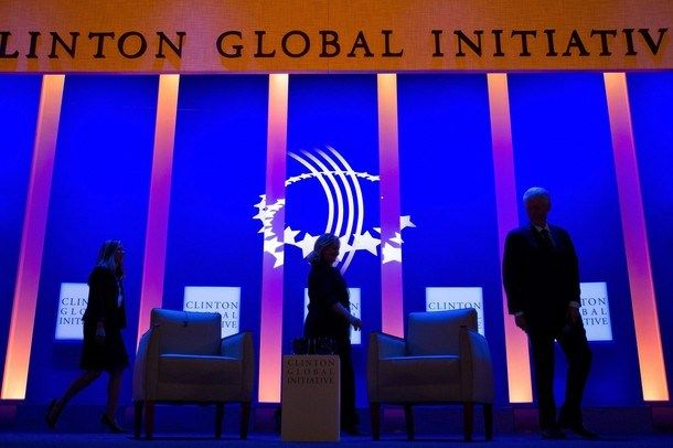 On Thursday, the Bill, Hillary and Chelsea Clinton Foundation announced that it would be closing down its annual, major donor, conference, the Clinton Global Initiative (CGI), for good.It was on January 12, 2017, coincidentally the 7th anniversary of the 2010 Haiti earthquake, that the organization sent out a WARN to its CGI employees, giving them notice of the impending layoffs. [VIDEO]