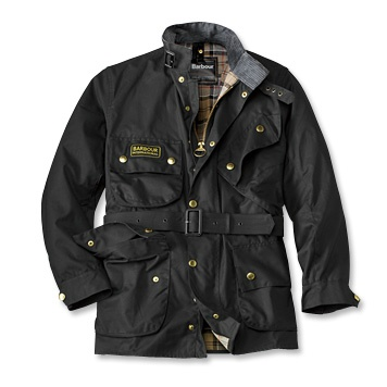 Babour Motorcycle Jacket. $449. since 1936 kept motorcyclists dry n the foulest weather