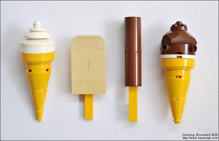 LEGO Ice Creams.                                                                                                                                                                                 More