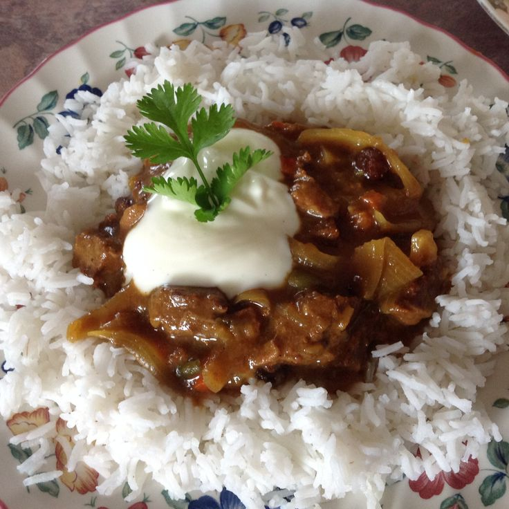 Sweet Beef Curry |