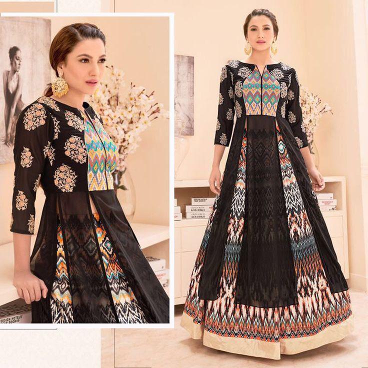 Bollywood Designer Indian Pakistani Asian Wedding Party New Anarkali Lehenga Set #Handmade #AnarkaliLehenga