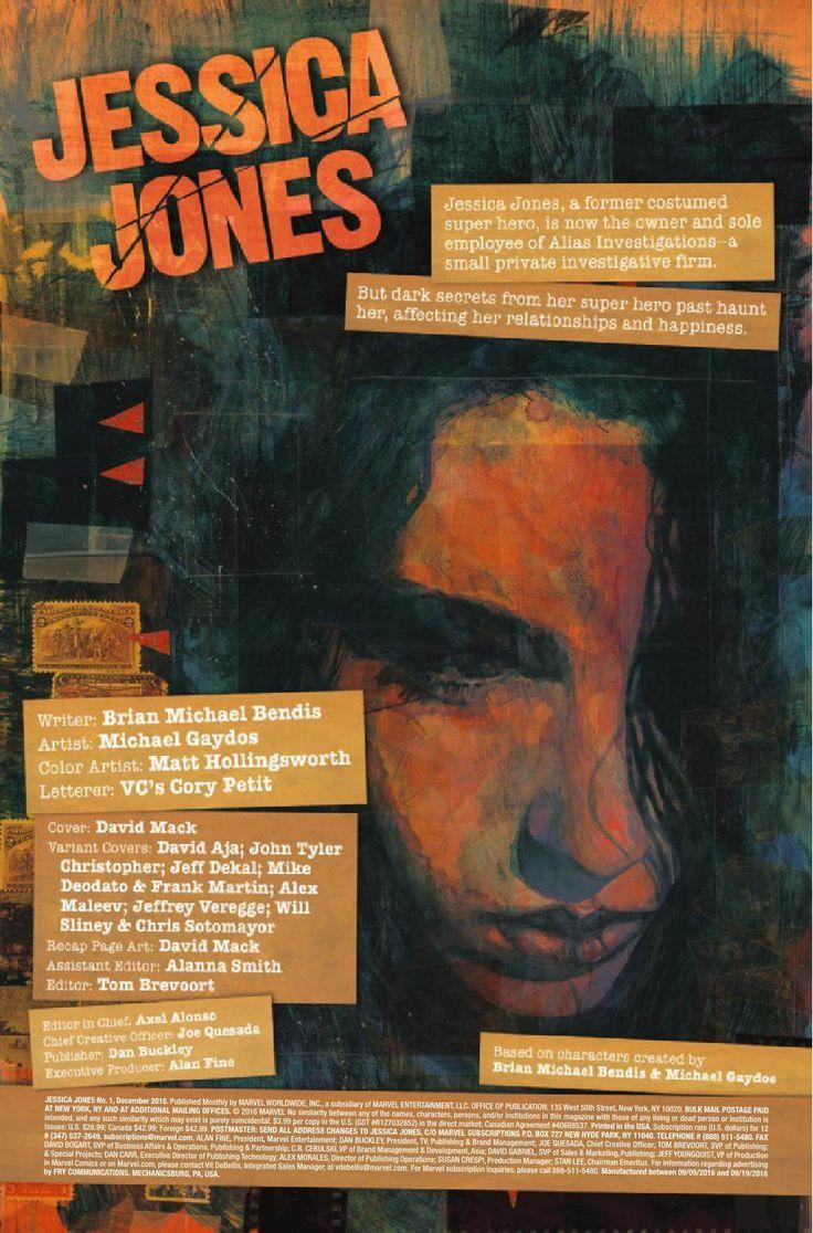 Preview: Jessica Jones #1, Story: Brian Michael Bendis Art: Michael Gaydos