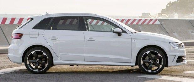 2014 Audi A3 Sportback side view