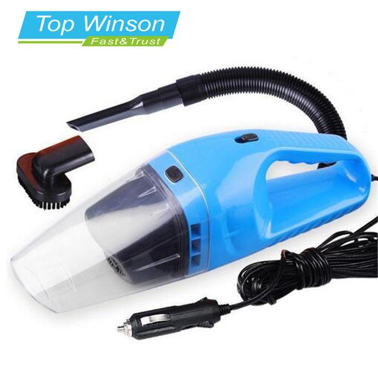 Auto Staubsauger Tragbaren Nassen Und Trockenen Dual Use Auto Zigarettenanzünder Filter 120 Watt 12 V Blau