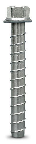 Simpson Strong Tie THD62612H 5/8-Inch by 6-1/2-Inch Titen HD Zinc Plated Heavy Duty Screw Anchor for Concrete/Masonry, 10 per Pack by Simpson Strong-Tie. $37.89. From the Manufacturer                The Titen HD anchor is a patented, high strength screw for concrete and masonry. It is design for cracked and uncracked concrete; a requirement that the 2009 IBC places on post-installed anchors. The self-cutting, non-expansion characteristics of the Titen HD ancho make it ideal fo...