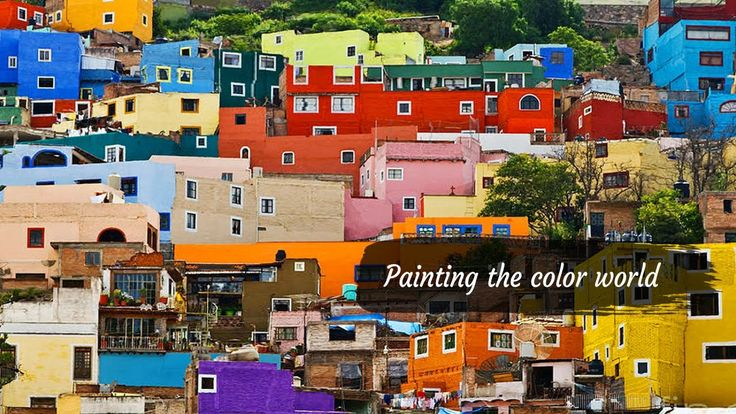 Painting the color world