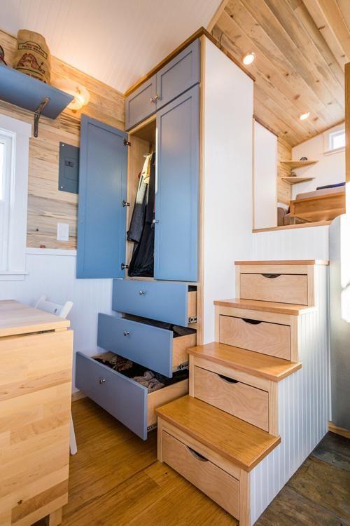 Tara S Custom 33 Tiny House On Wheels By Mitchcraft Homes