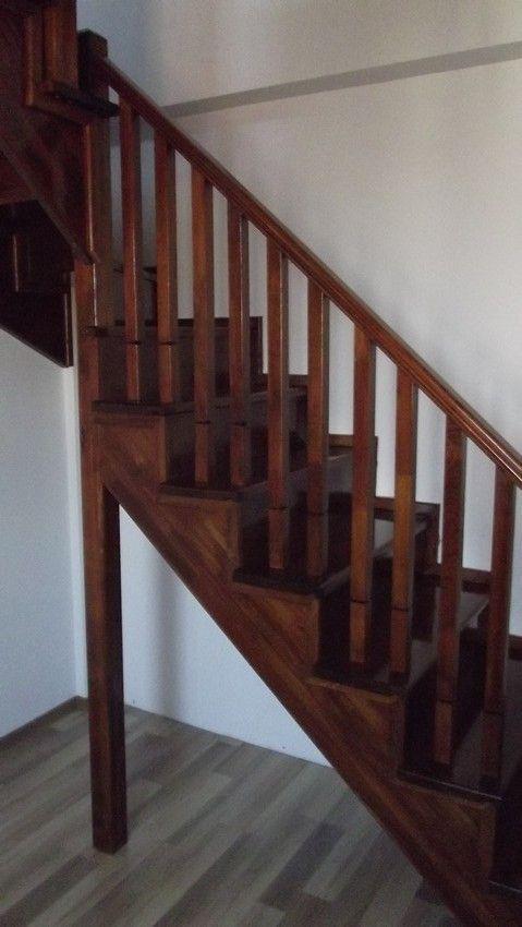 scari din lemn, scari lemn masiv, scari interioare lemn
